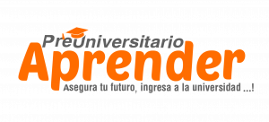 Logo preuniversitario aprender con borde